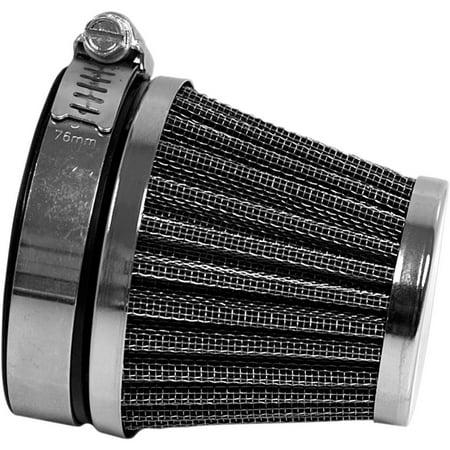 Emgo 12-55760 Clamp On Air Filter - Mount Flange I.D. 60mm