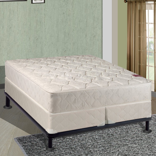Spinal Solution 8'' Firm Mattress With Box Spring