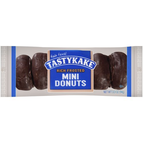 Tastykake Rich Frosted Mini Donuts, 3.3 oz