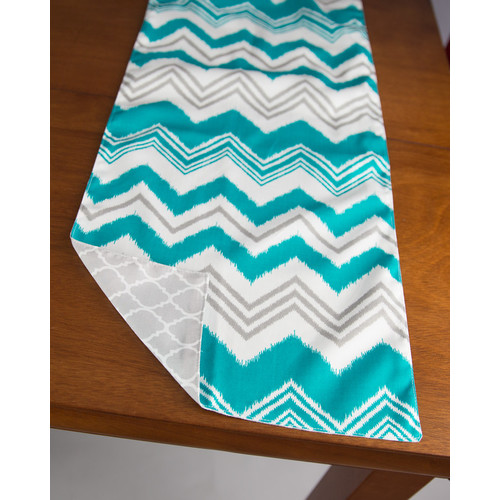CaughtYaLookin' Zazzle Pacific Table Runner