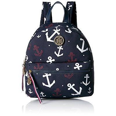 Tommy Hilfiger women's th falling anchors dome backpack, ...