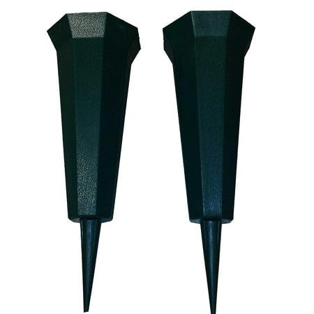 Two Plastic Memorial Vase](Plastic Vase)