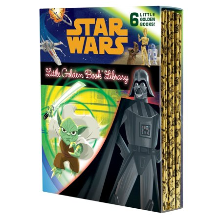The Star Wars Little Golden Book Library (Star