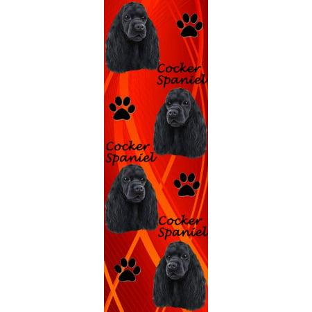 E&S Pets BM-78c Dog Bookmark Black Cocker Spaniel Cocker Spaniel Dog Underwear