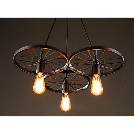 - Warehouse of Tiffany Edison Serapiko 3 Light Chandelier