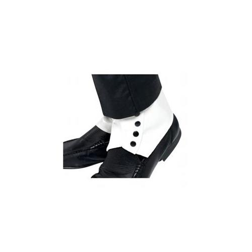 Smiffys Spats White Adult One Size