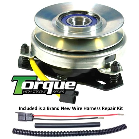 Bundle - 2 items: PTO Electric Blade Clutch, Wire Harness Repair Kit   Replaces Warner 5215-27 Electric PTO Clutch - w/ Wire Harness Repair Kit!