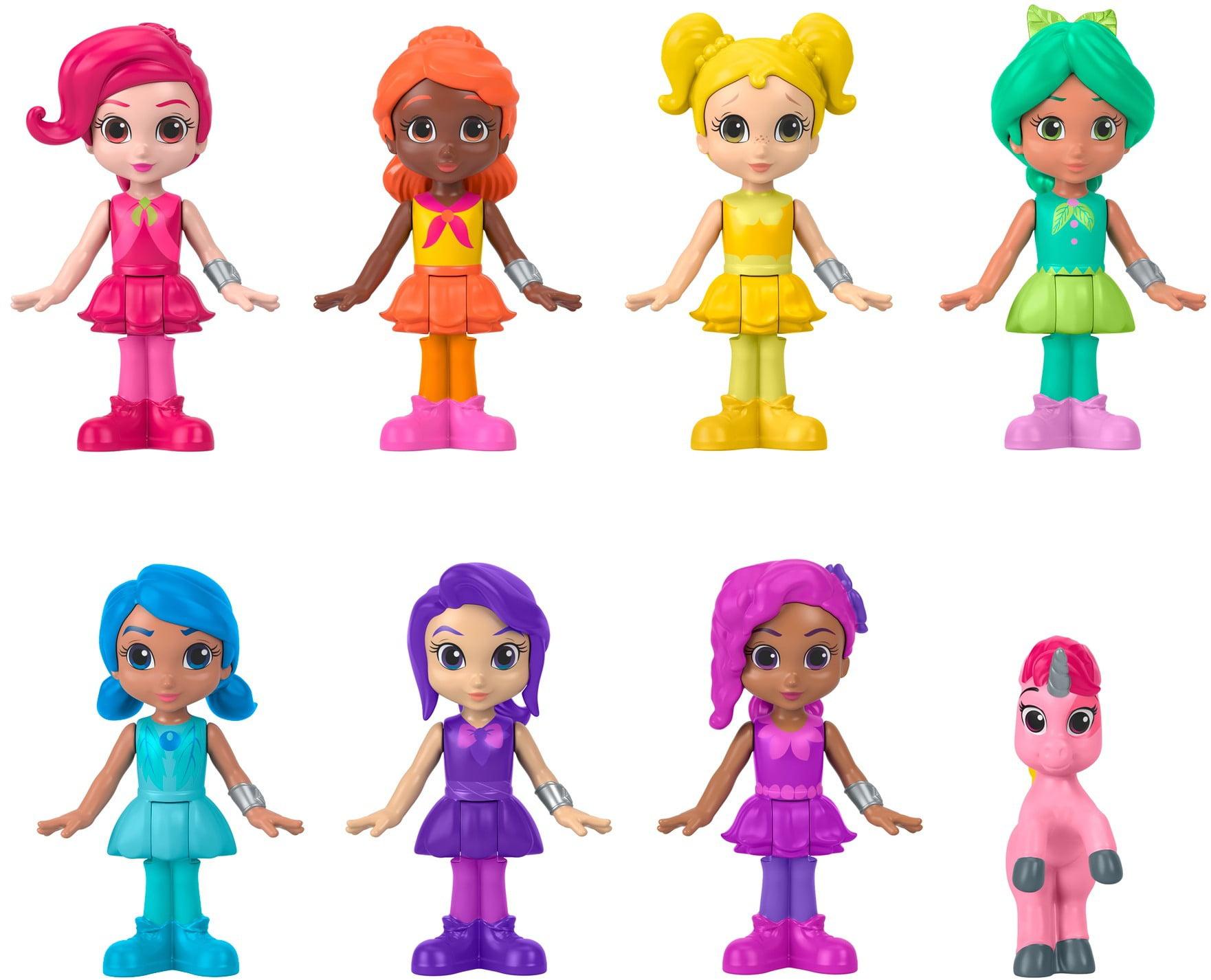 Fisher-Price Rainbow Rangers Figure Set Dolls