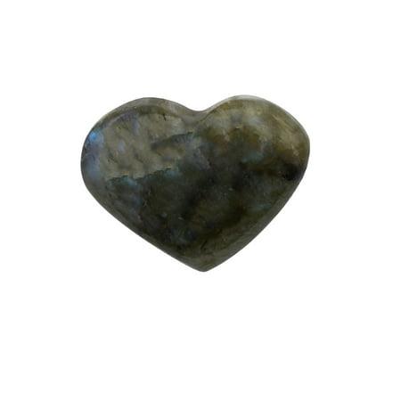Black Crystal Labradorite Reiki Stone Chakra Energy Healing Rock