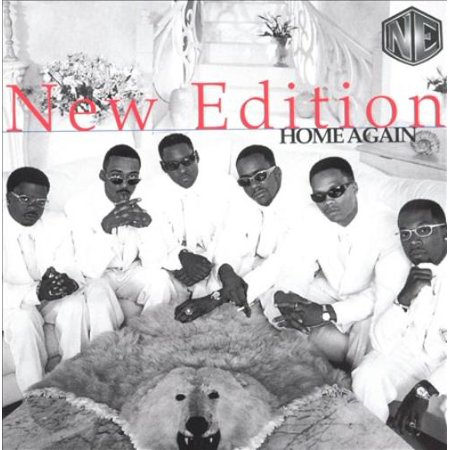 New Edition (US) Home Again CD - image 1 of 1