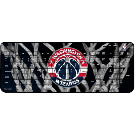 Washington Wizards Net Design Wireless USB Keyboard by Keyscaper by