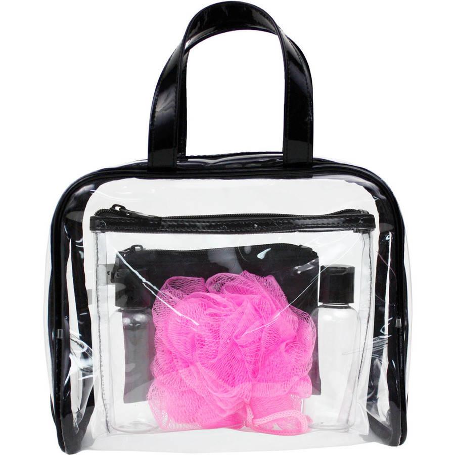 Modella Transparent/Black Travel Pack