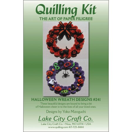 Hallowee City (Quilling Kit, Halloween)