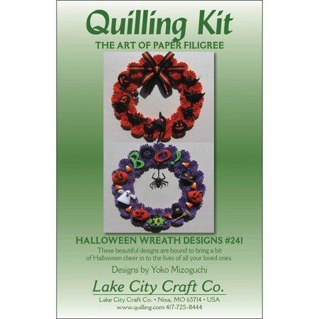 Quilling Kit, Halloween Wreaths - Best Halloween Scrapbook Layouts