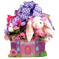 Gift Basket Drop Shipping FiFoPr-Lg Fit For A Princess, Easter Gift Basket Large