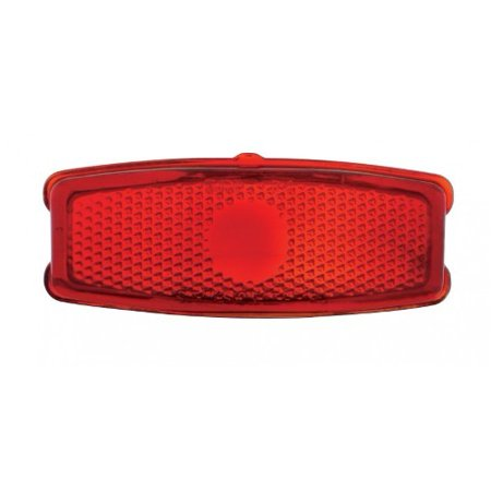 1948 Tail Light ((2) 1941 - 1948 Chevy Passenger Car Red Glass Brake Stop Turn Tail Light)