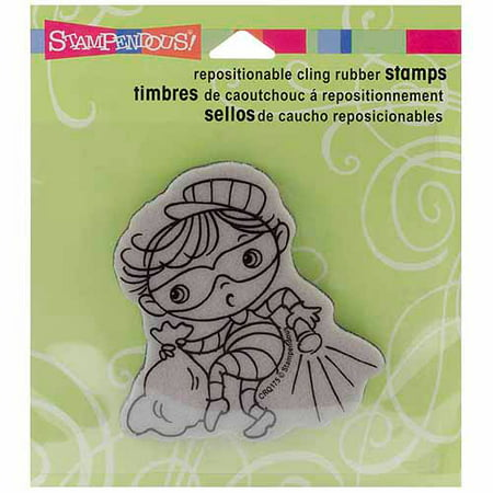 Stampendous Halloween Cling Rubber Stamp for $<!---->