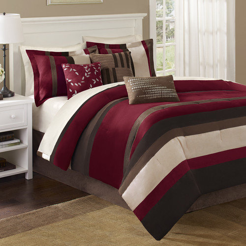 Madison Park Boulder Stripe Comforter Set - (Cal. King)