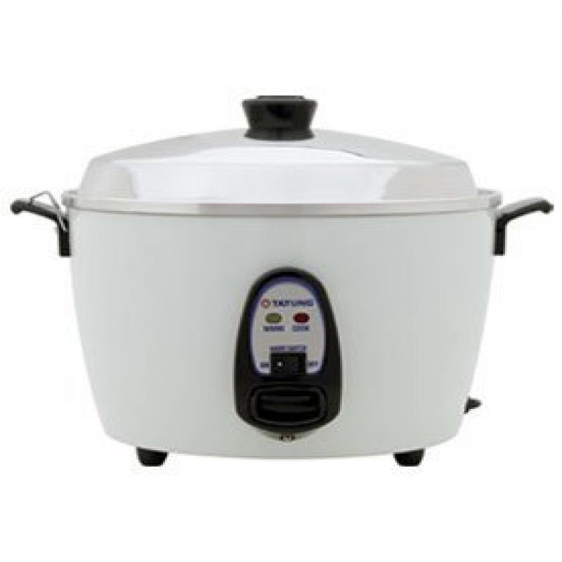 Tatung 6-Cup Multifunction Indirect Heat Rice Cooker Stea...