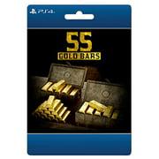Red Dead Online: 55 Gold Bars, Rockstar Games, Playstation, [Digital Download]