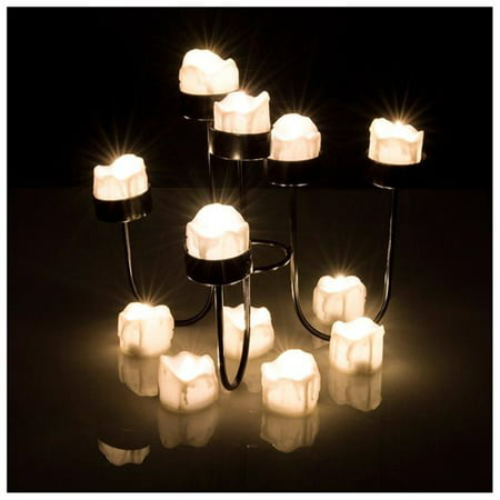 LED Tealight Candles Battery Operated Flameless smokeless Flickering Flashing Lot 6 PCS for - Flickering Tea Lights