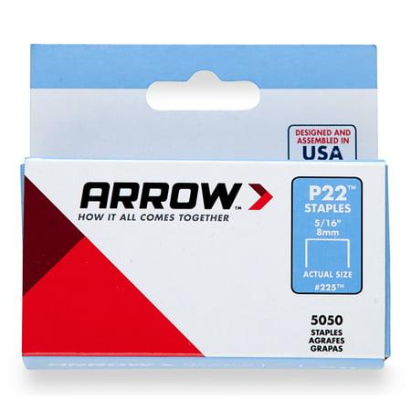 6e05d7c01 ARROW P22 Staples, #225 5/16