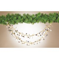 6 Ft Gold/Silver Sequin Garland
