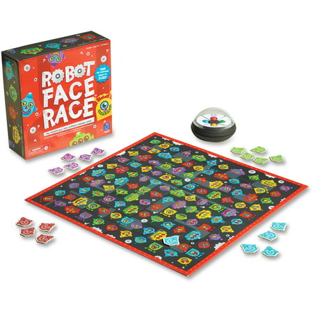 Educational Insights, EII2889, Robot Face Race Game, 1 Each, Assorted (Educational Halloween Games For Kindergarten)