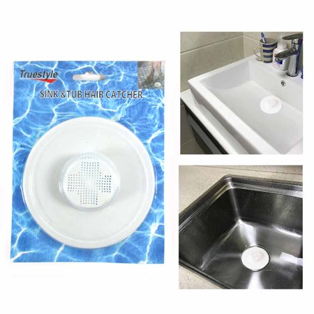 (Sink Tub Hair Catcher Bath Drain Shower Strainer Cover Trap Basin Stopper Filter)