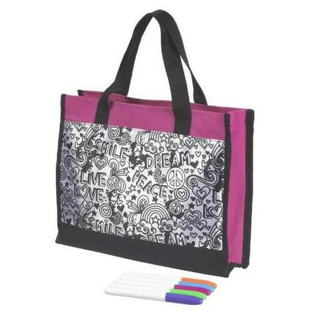 "Design My Way Messenger Bag 10"" - Craft Kit by Ganz (H12581)"