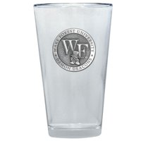 "Wake Forest Demon Deacons ""WF"" Logo Pint Glass"