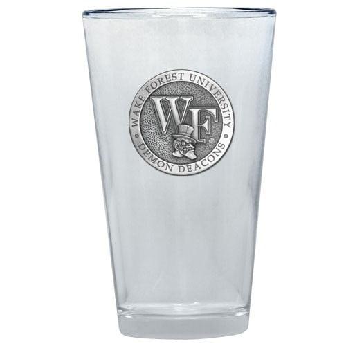 "Wake Forest Demon Deacons ""WF"" Logo Pint Glass"
