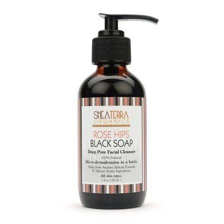 (Shea Terra Organics - Rose Hips Black Soap Deep Pore Facial Wash & Mask - ..)