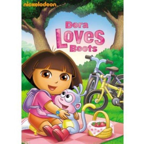 Dora The Explorer: Dora Loves Boots (With Love Notes) (Full Frame)