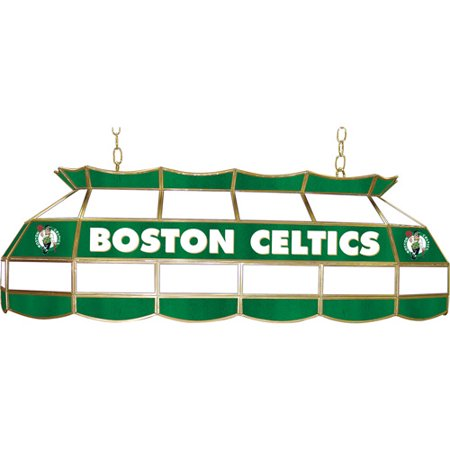 Boston Celtics Nba 40 Inch Stained - Boston Celtics Glass