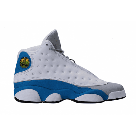 jordan retro 13 blue and white