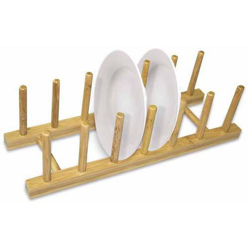 Home Basics Bamboo Dish Rack by HDS TRADING CORP