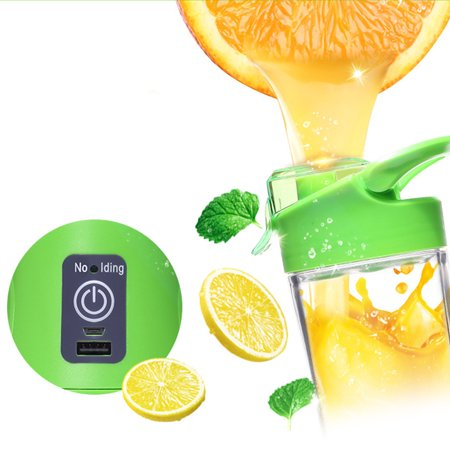 Clearance! Portable Blender, Travel Electric Juice Cup with USB Rechargeable Small Blender for Shakes and