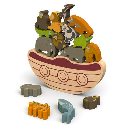 Balance Boat: Endangered Animals Game and Playset -