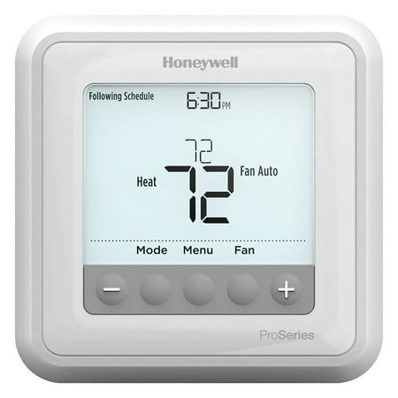 Cool Thermostat (Honeywell TH6210U2001/U T6 Pro Programmable Thermostat, 2 Heat / 1 Cool Heat Pump Or 1 Heat / 1 Cool Conventional )