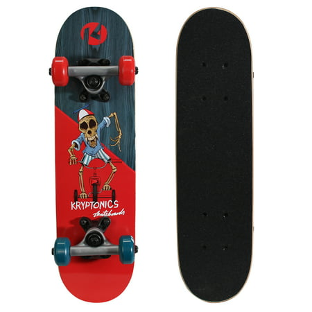 "Kryptonics Locker Board Complete Skateboard (22"" x 5.75"")"