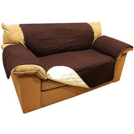 Aleko Psc02br 88 X 70 Inches Love Seat Pet Slipcover Spill