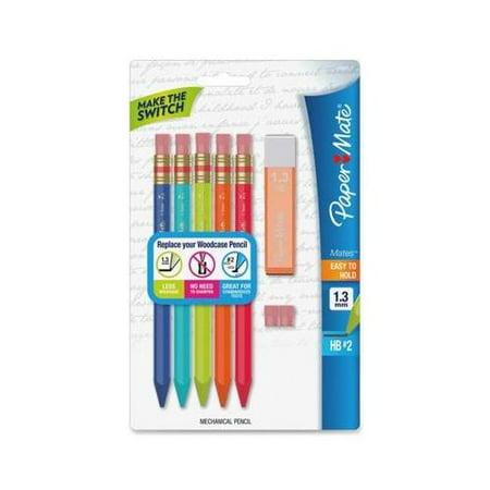 Mechanical Kit (Paper Mate Triangular No.2 Mechanical Pencils Kit)