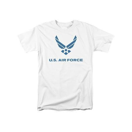 Air Force U.S. Air Force Classic Logo Blue Adult T-Shirt