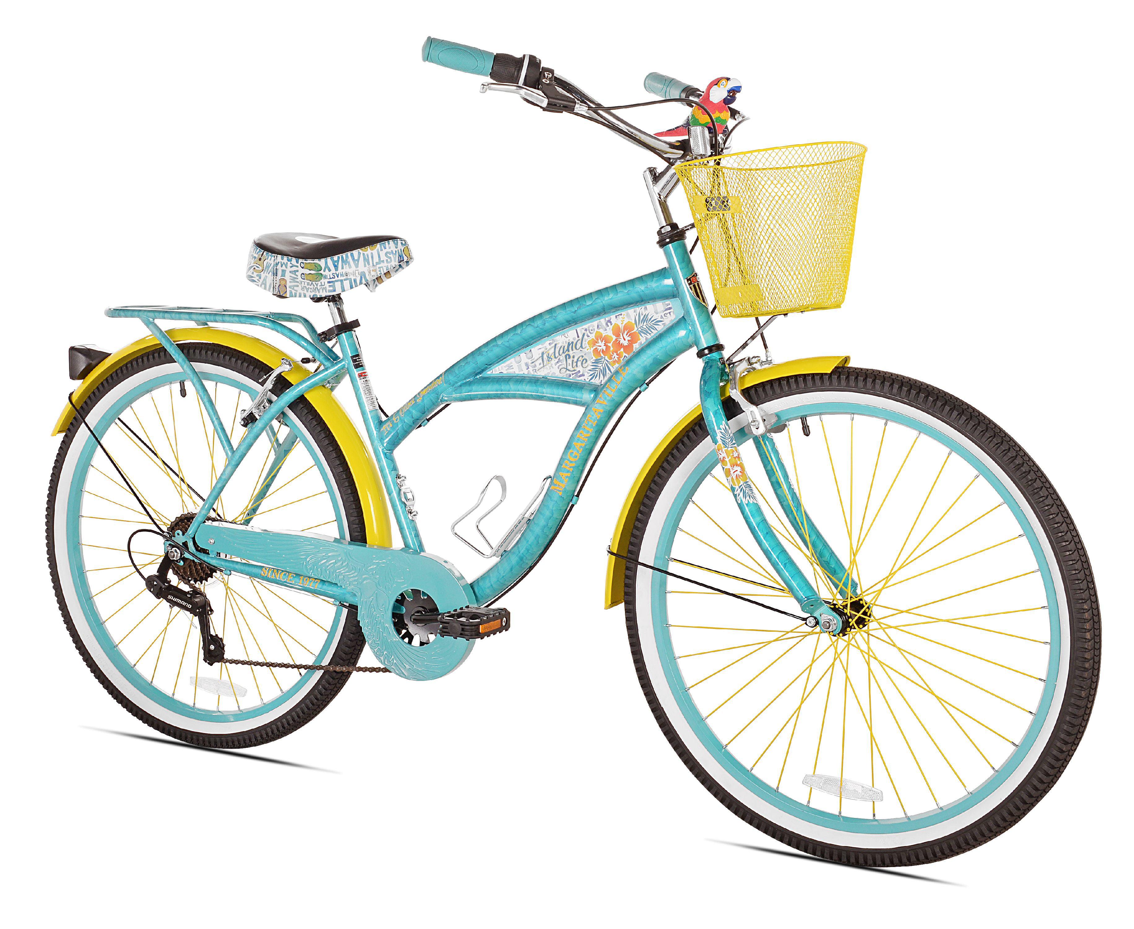 "Click here to buy 26"" BCA Women's Margaritaville Multi-Speed Cruiser Bike by BCA."