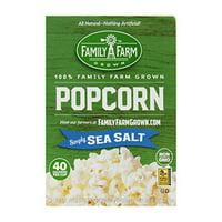 Black Jewell 2183507 9 oz Micro Sea Salt Popcorn - Case of 6