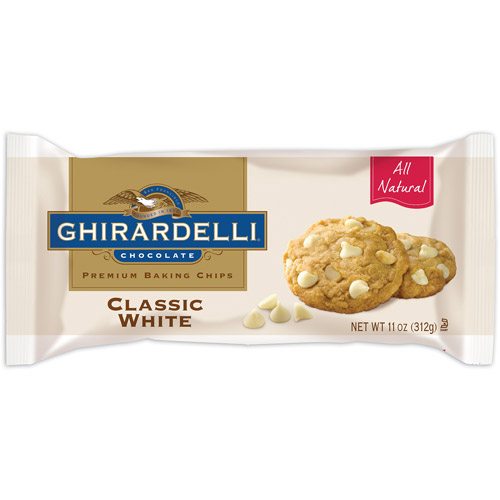 Ghirardelli Chocolate Classic White Baking Chips, 11 oz