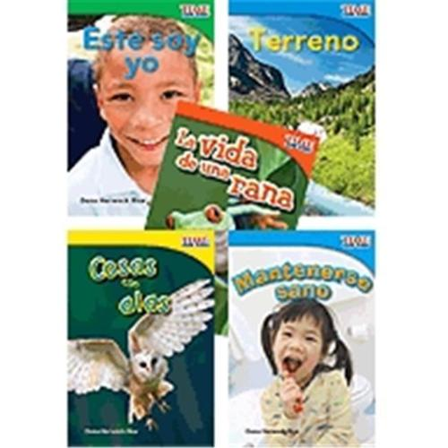 Shell Education 16096 Time For Kids Informational Text Grade 1 Readers Spanish Set 1, 10-Book Set