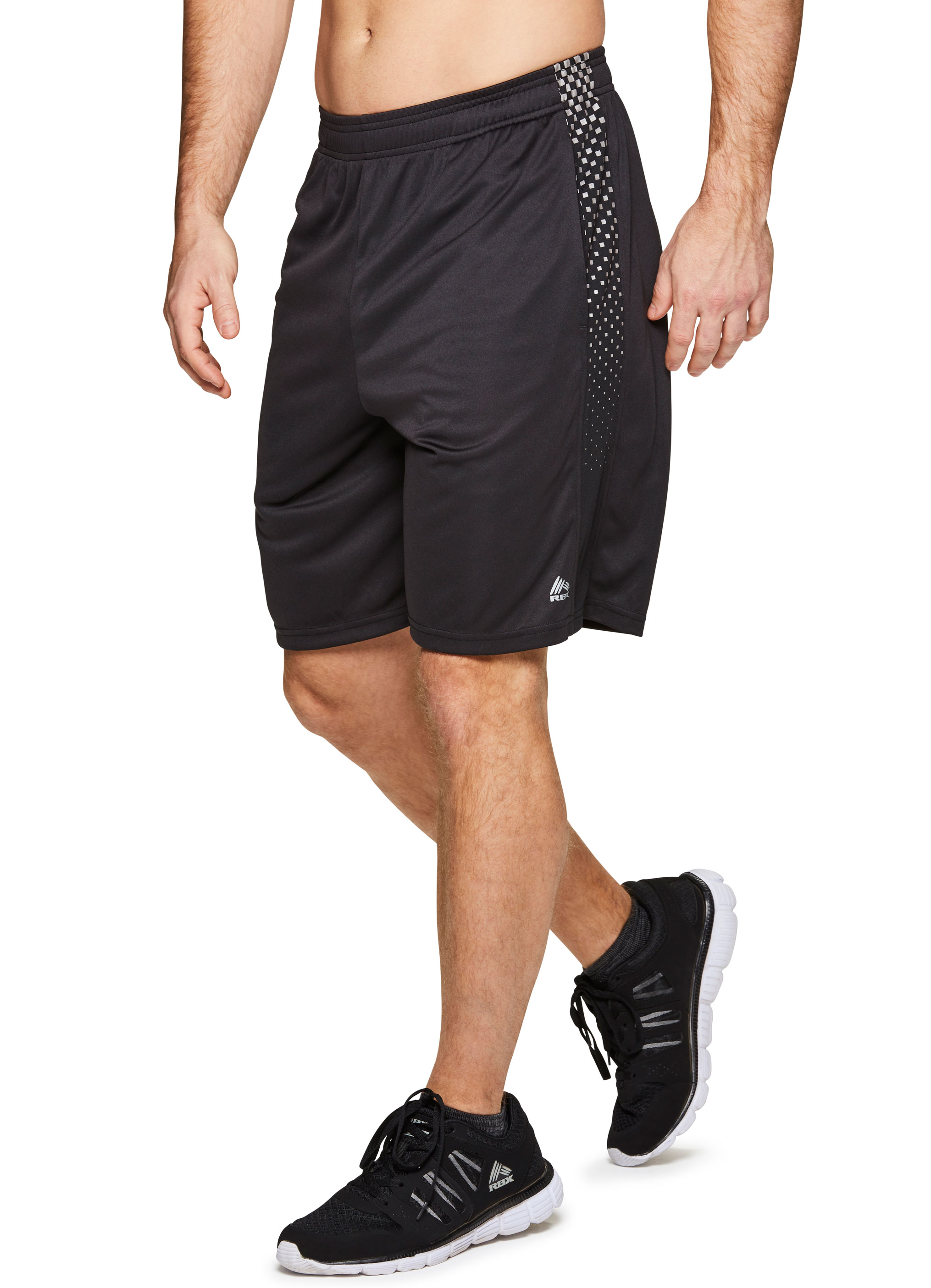 RBX Active Men's 9 in Workout Running Gym Shorts with Pockets
