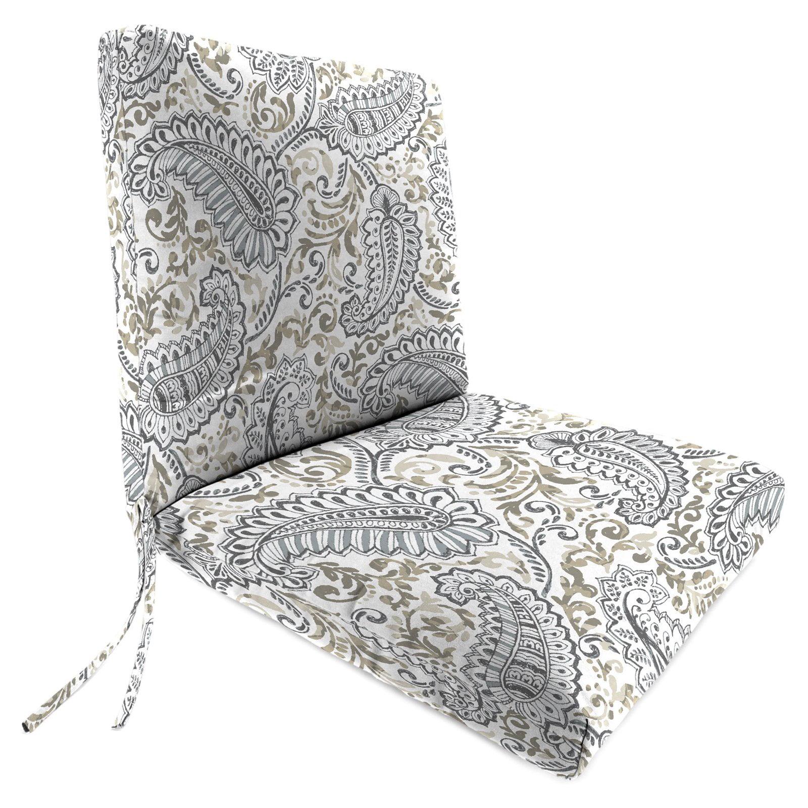 Hinged Outdoor Shannon Chair Cushion